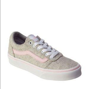 Vans Ward Glitter Fashion Sneakers- Size 3.5